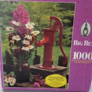 Water Pump with Daises Puzzle